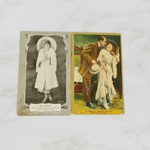 Vintage Postcards Of Actors